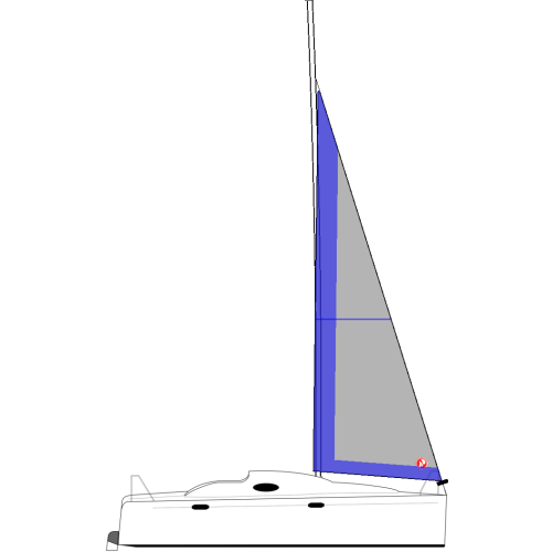 FLASH 205 (TALL RIG) - Vela Genoa 95%