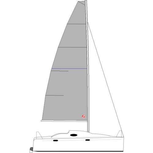 FLASH 205 (TALL RIG) - VELA MESTRA